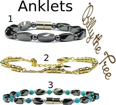 Magnetic Anklets