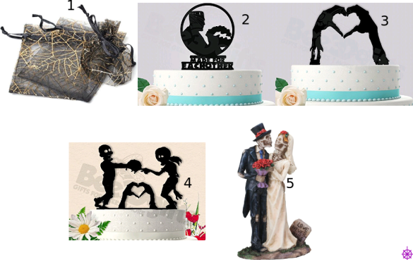 Favor Bags n Cake Toppers